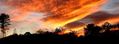 Sunset over Murphey