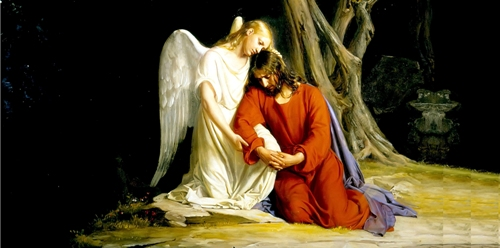 What motivated gethsemane prayer coach Jesus praying in the garden of gethsemane