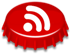 RSS Feed bottlecap icon