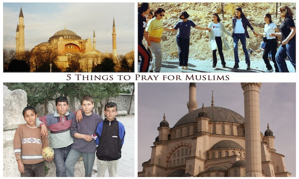 How to Pray for Muslims
