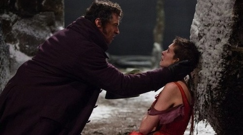 image of Fantine and Jean Valjean in Les Miserables