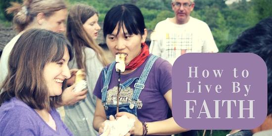 How to Live By Faith-2