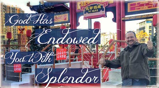Endowed You Splendor