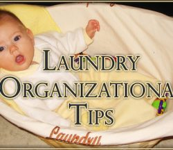 Laundry Organizational Tips