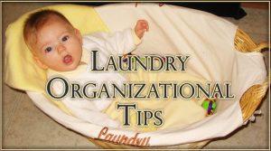 Laundry Organizational Tips