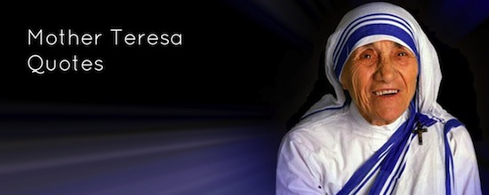 25 Inspiring Mother Teresa Quotes   prayer coach