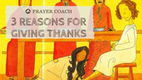 reasons for giving thanks