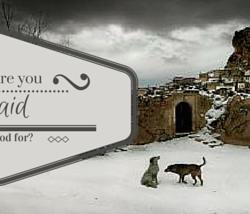 Afraid to ask God