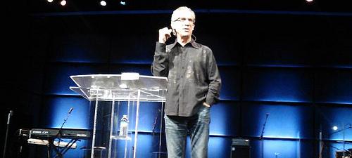 Bill Johnson preaching