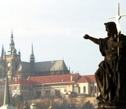 Jesus on Charles Bridge in Prague