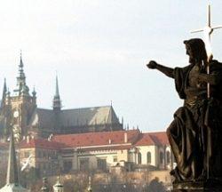Jesus on Charles Bridge in Prague