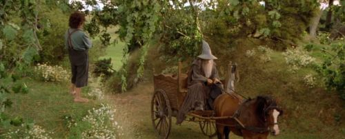 Gandalf from Lord of the Rings is Late