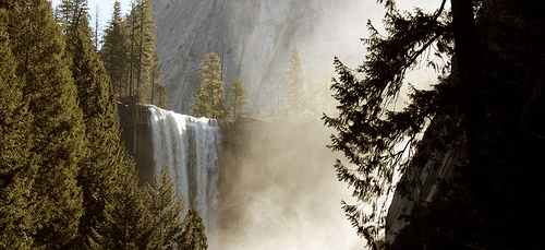 picture of Vernal Falls in Yosemite