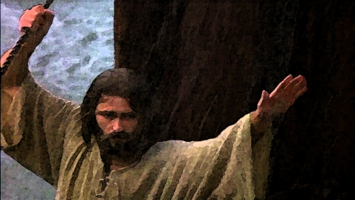 Image of Jesus Calming the Sea