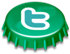 Twitter bottlecap icon
