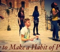 Make a Habit of Prayer