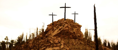 image of Three Crosses on the Hill