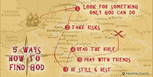 Ways to Find God Treasure Map