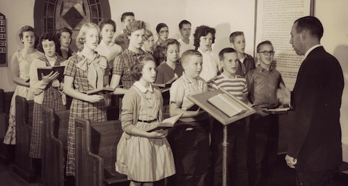kids christmas choir image