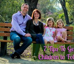 7 Tips to Help Your Children Follow God