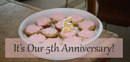 Its Our 5th Anniversary