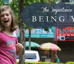 The Importance of Being You