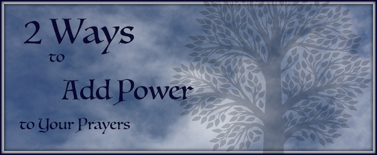 Add Power to Prayer