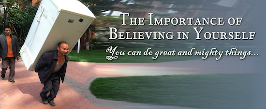 Importance of Believing Yourself