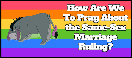 Pray Same Sex Marriage