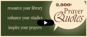 Prayer Quotes Video Banner