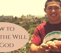 How to Live in the Will of God