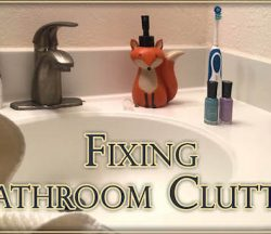 Fixing Bathroom Clutter