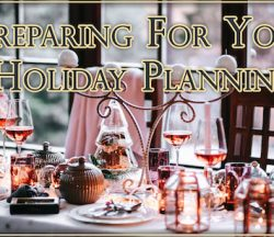 Holiday Planning - Prepare