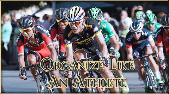 Organize Athlete