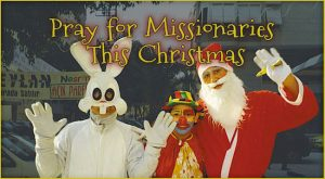 Pray for Missionaries Christmas