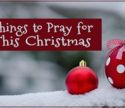 pray for this christmas