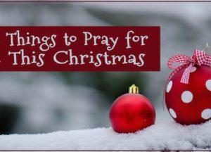 pray for this christmas