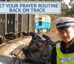 Prayer Routine Back on Track