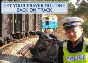 Prayer Routine Back on Track