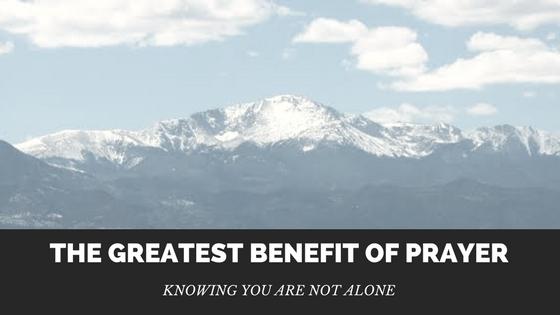 benefits of prayer