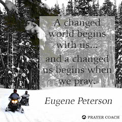 Changed World - Eugene Peterson