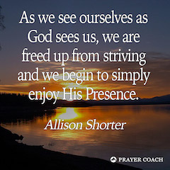 Enjoy His Presence - Allison Shorter