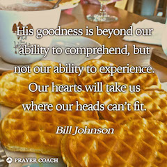 Experience Goodness - Bill Johnson
