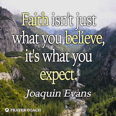 Faith Expect - Joaquin Evans