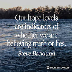Hope Levels - Steve Backlund