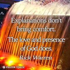 Love Presence Comfort - Rick Warren