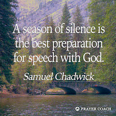 Season of Silence - Samuel Chadwick