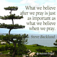 What We Pray - Steve Backlund