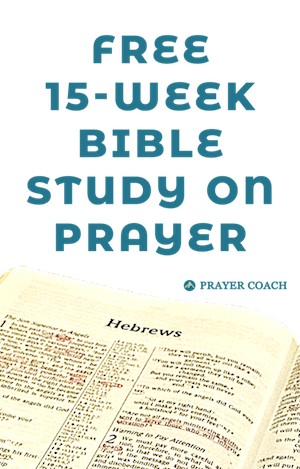 Free Hebrews Bible Study on Prayer