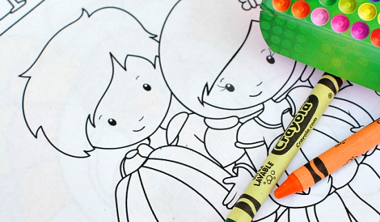 Thanksgiving coloring page to print-crazylittleprojects